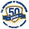 dot 50th logo