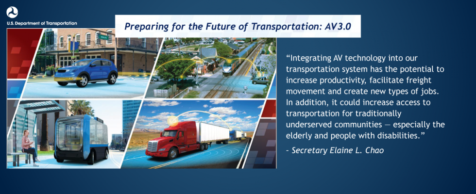 Preparing for the Future of Transportation: Automated Vehicle 3.0