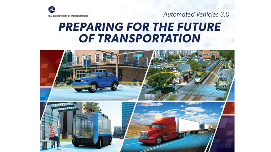 Preparing for the Future of Transportation: Automated Vehicles 3.0 banner