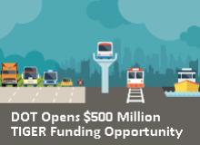 DOT Announces $500 Million TIGER Funding Opportunity