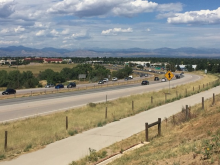 Picture of a section of the C-470 roadway