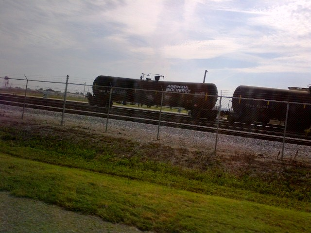 Photo of rail cars at America's Central Port
