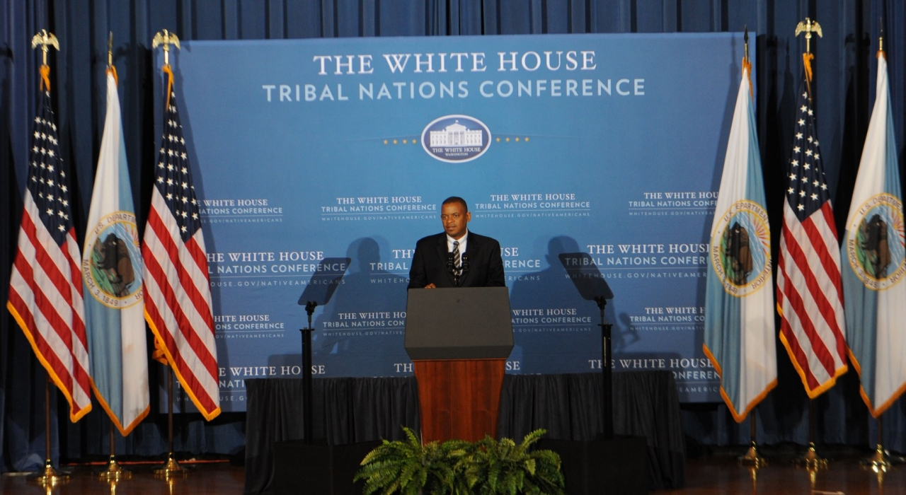 Photo of Secretary Foxx at the White House Tribal Nations Conference