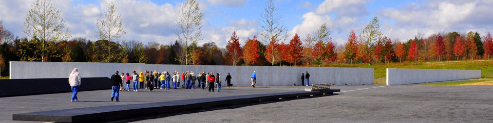 Flight 93 National Memorial Plaza