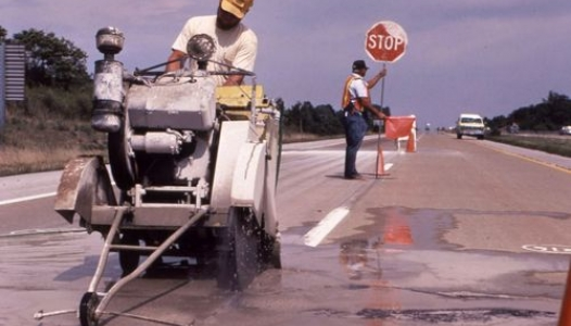Photo of road crew