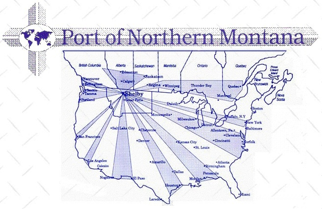 Port of Nothern Montana graphic