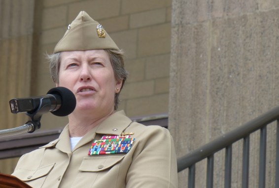 Photo of Rear Admiral Susan Dunlap