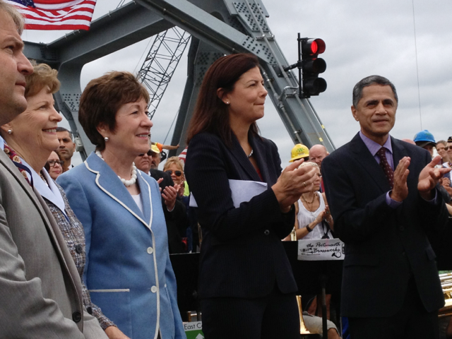 Memorial Bridge Opening in New Hampshire