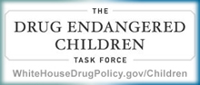 Button for Drug Endangered Children Task Force