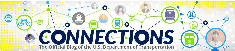 Header for US Department of Transportation Blog