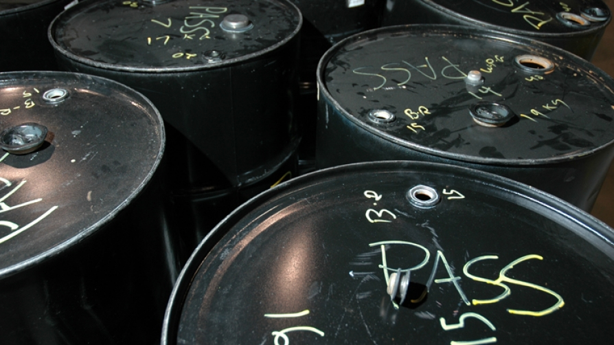 Barrels marked with certifications