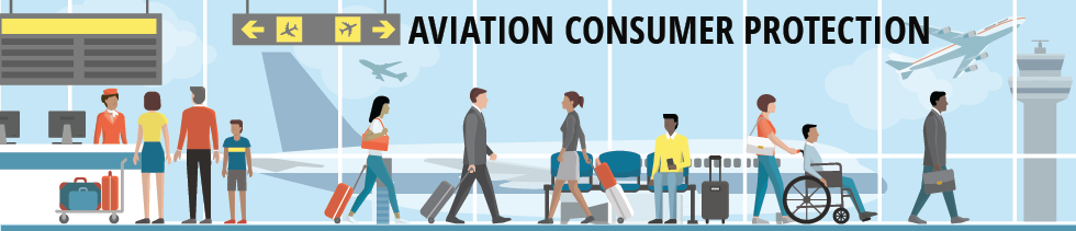 Banner for Aviation Consumer Protection web pages