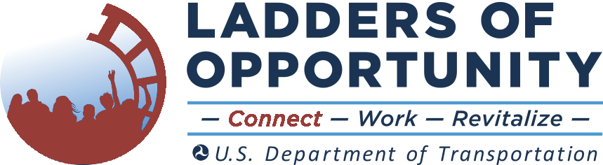 "Ladders of Opportunity logo with ""connect"" highlighted"