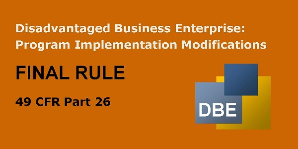 DBE Final Rule Image