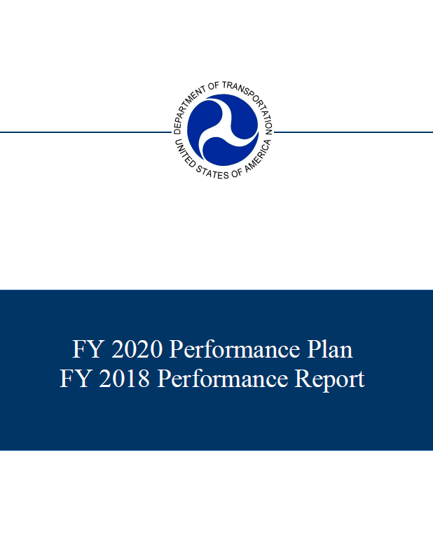 Combined FY 2018 Performance Report and FY 2020 Performance Plan