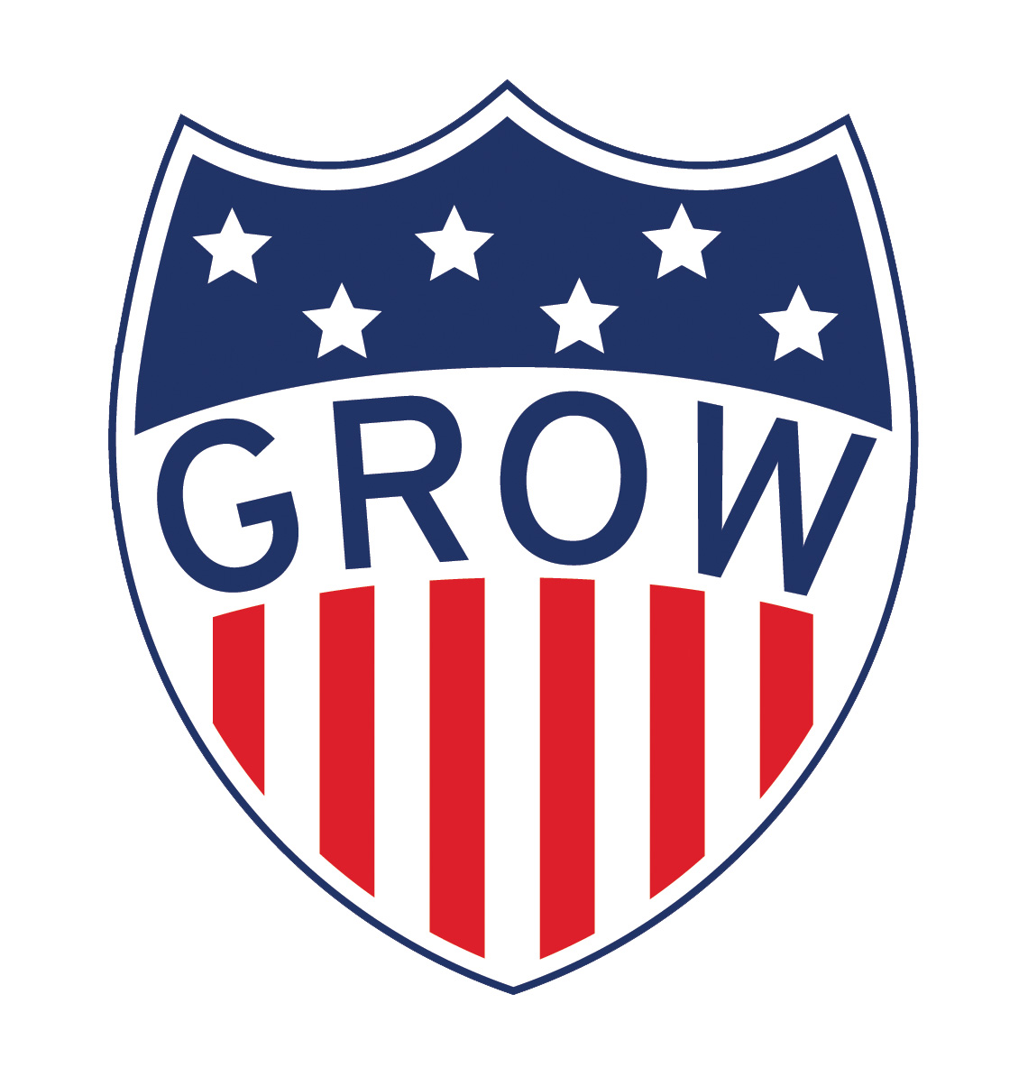 Grow America shield