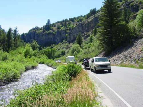 Photo of Logan Canyon Scenic Byway near Rick Springs