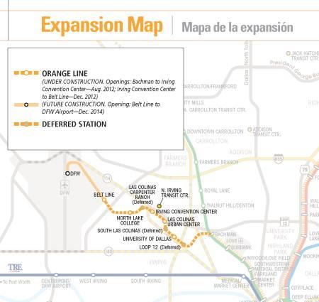 Dallas Area Rapid Transit Project Orange Line Extension (I-3)