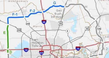 Grand Parkway Segments D–G