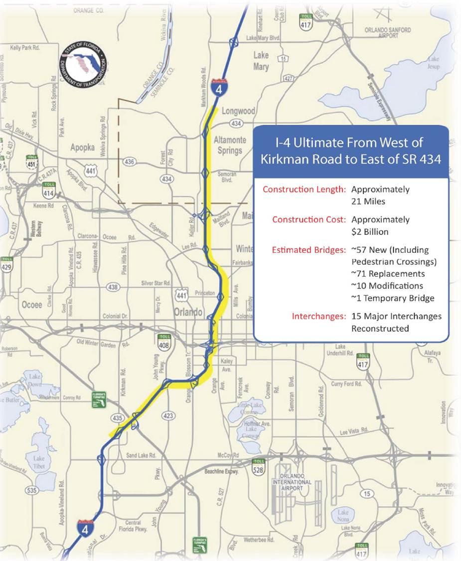 florida map interstate 4