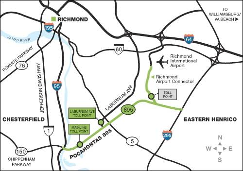 Pocahontas Parkway / Richmond Airport Connector