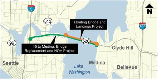 SR 520 Floating Bridge