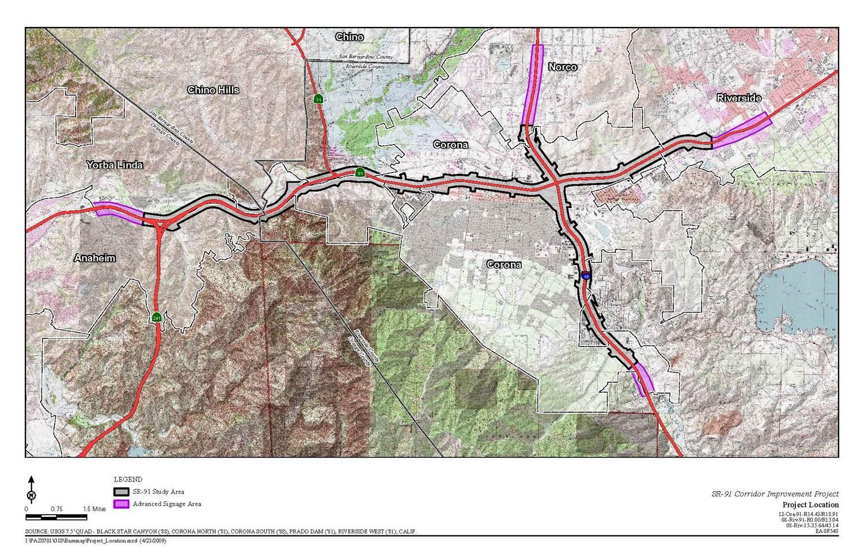 SR 91 Corridor Improvement   US Department of Transportation