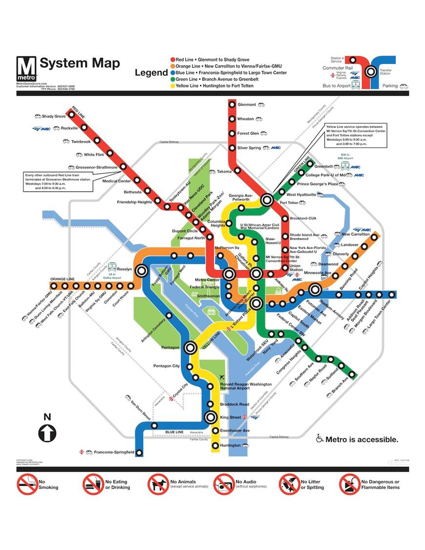 Washington Metro Capital Improvement Program Us Department Of