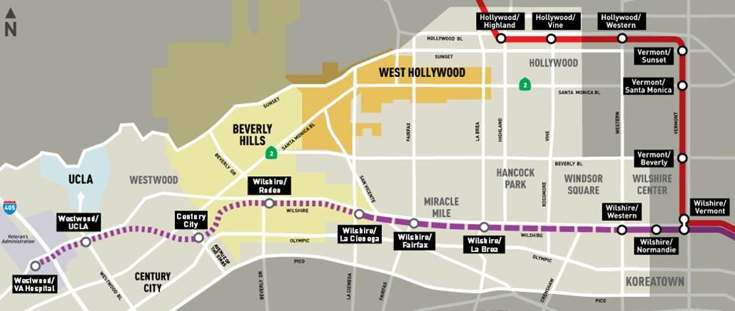 Westside Purple Line Extension, Section 1