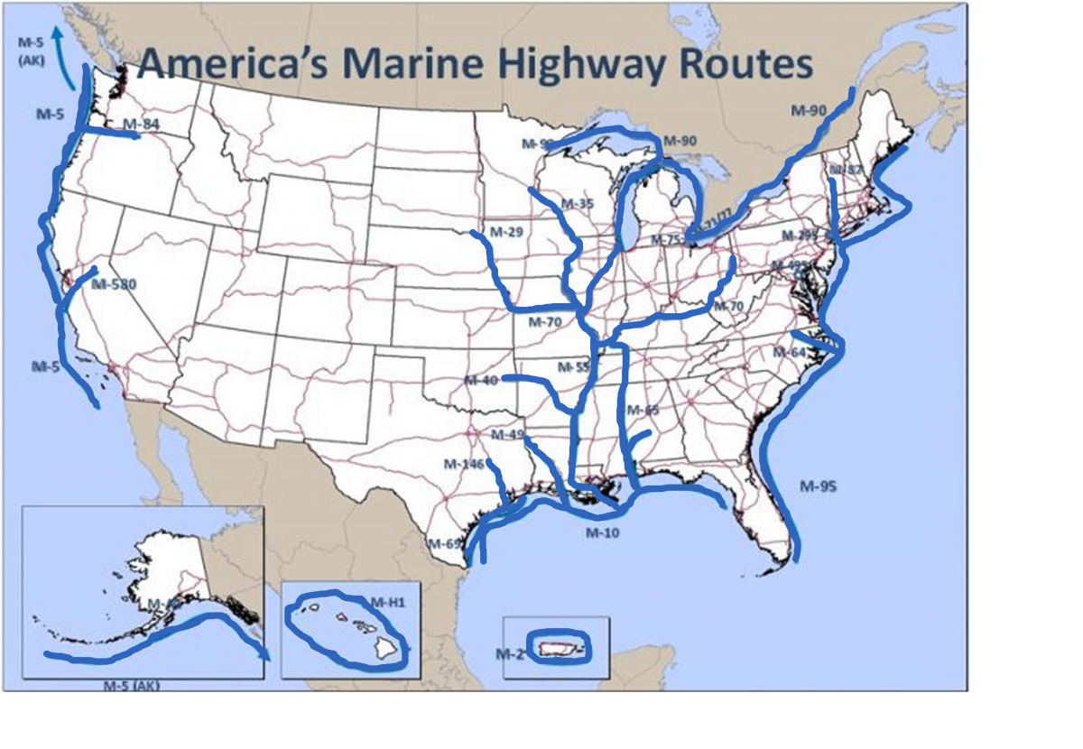 America's Marine Highway Routes