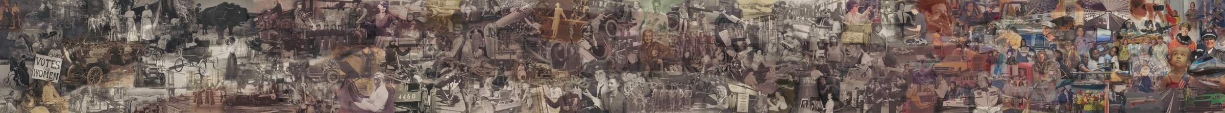 Collage of Women in Transportation