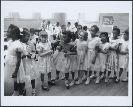 Image of little girls (brown vs board of education)