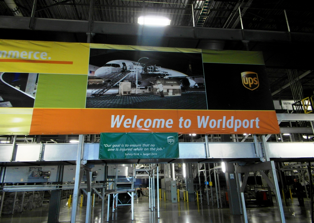 Photo of UPS Worldport