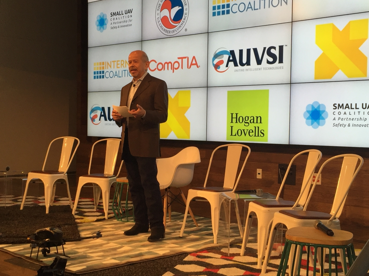 FAA Administrator Huerta speaking at South by Southwest event
