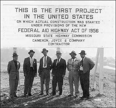 Federal aid highway act of 1956 missouri state highway commission cameron joyes & company contractor image