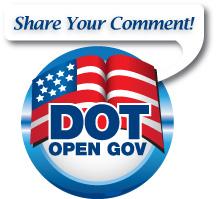DOT Open Gov logo