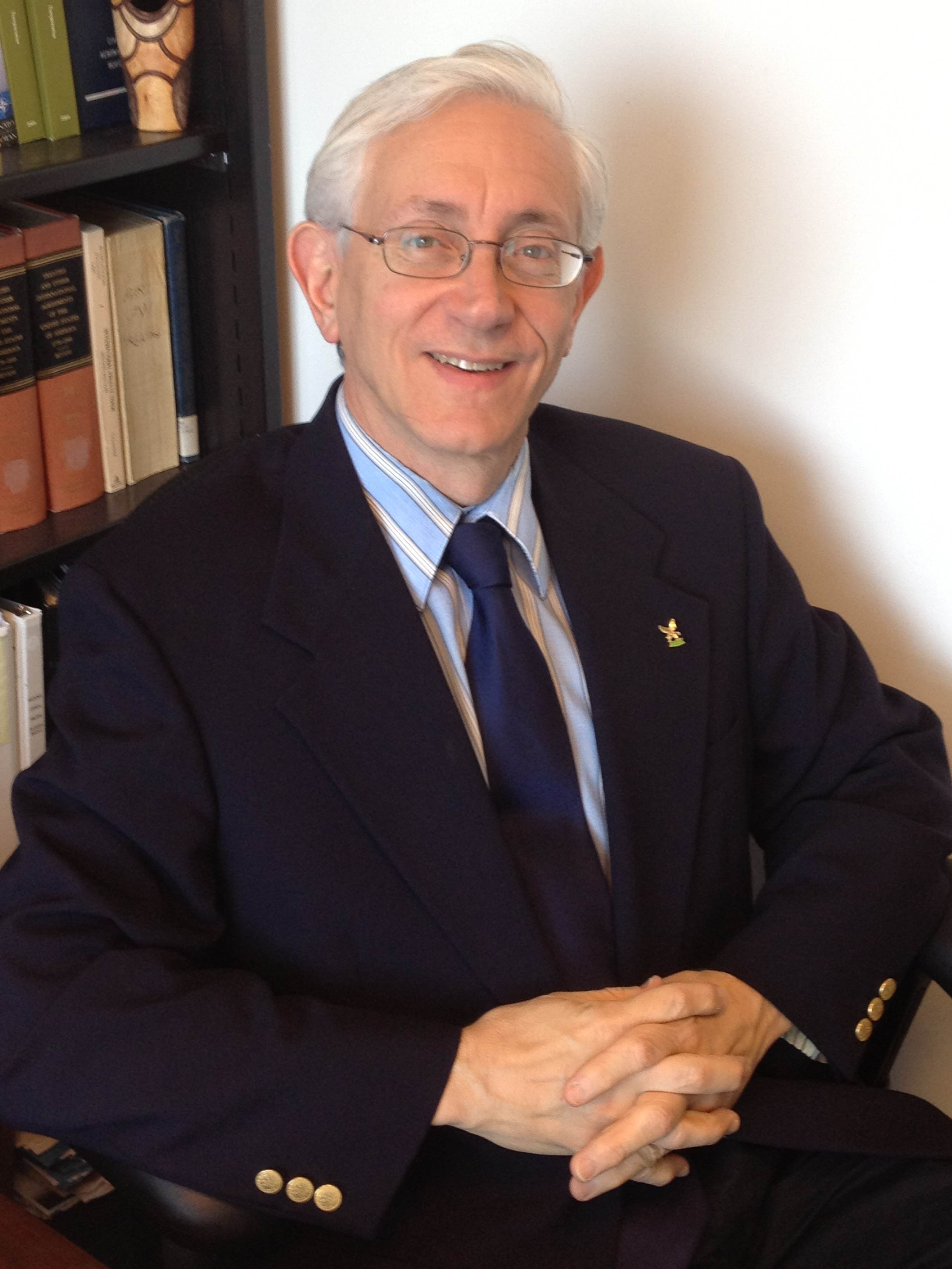 Photo of Peter Bloch, Deputy Assistant General Counsel for International Law
