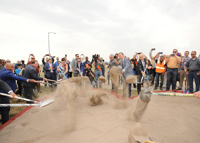 Groundbreaking Ceremony for CDOT's Central 70 project