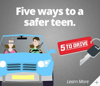 """5 to drive"" web ad"