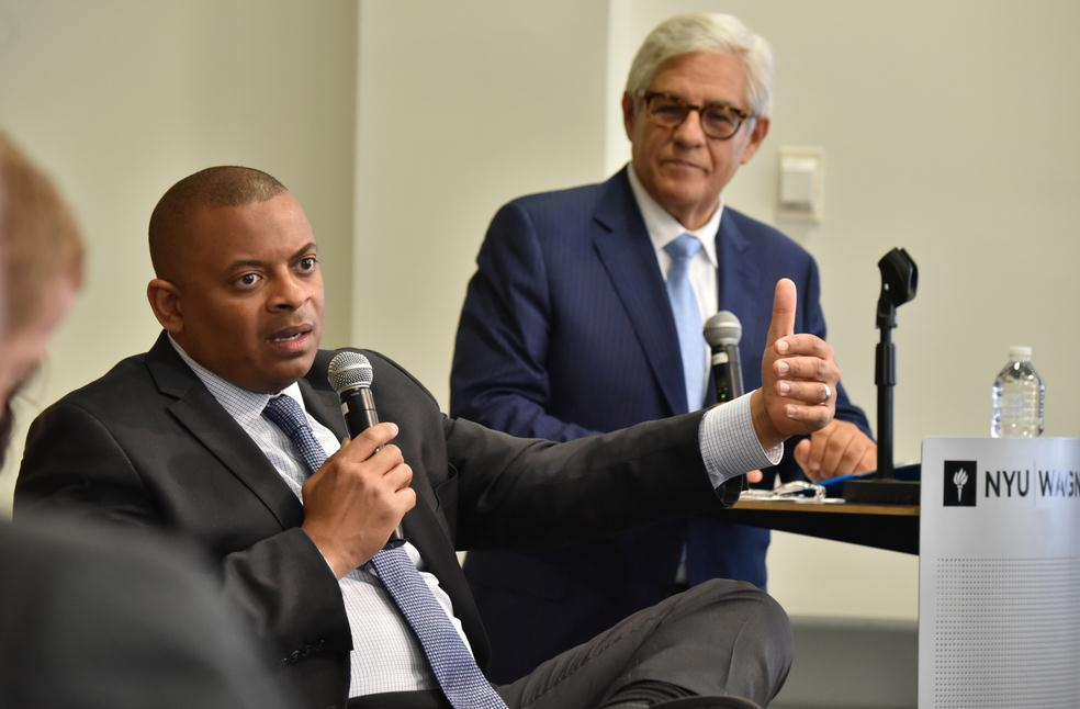 Secretary Foxx at NYU's Rudin Center