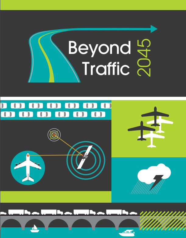 Cover image of Beyond Traffic: 2045 Final Report