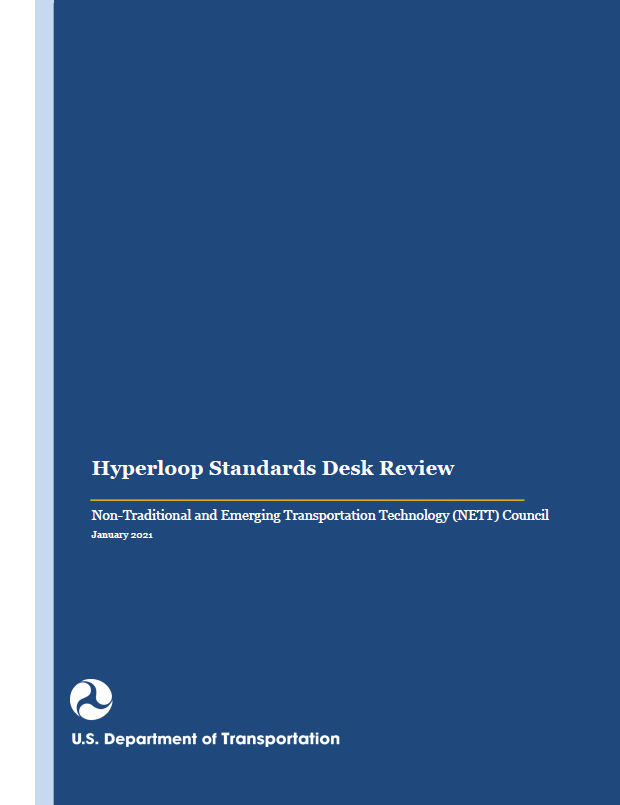 Cover of the Hyperloop Standards Desk Review
