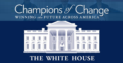 White House Champions of Change logo