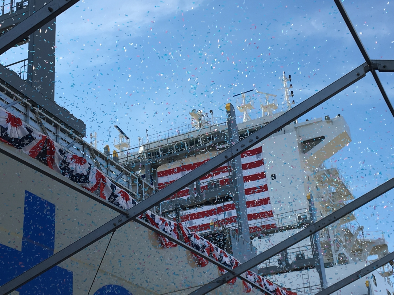 Christening of the Inouye Containership
