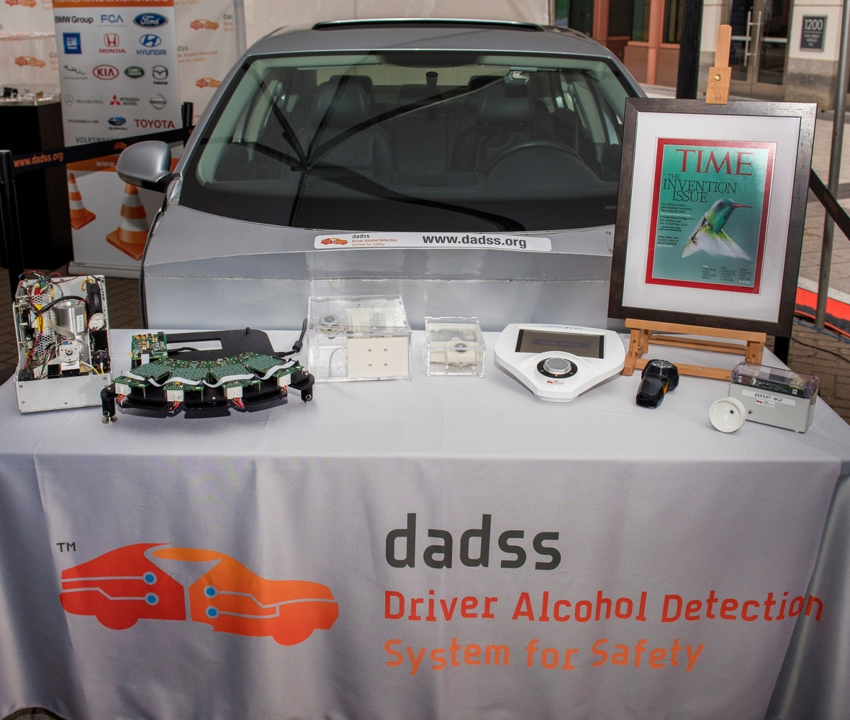DADSS display table