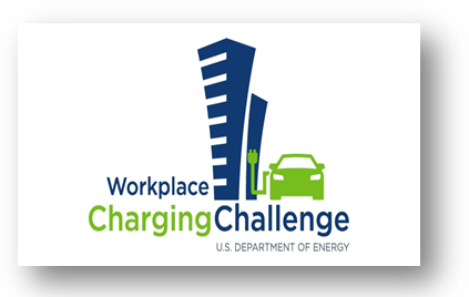 Logo for D.O.E. workplace charging challenge