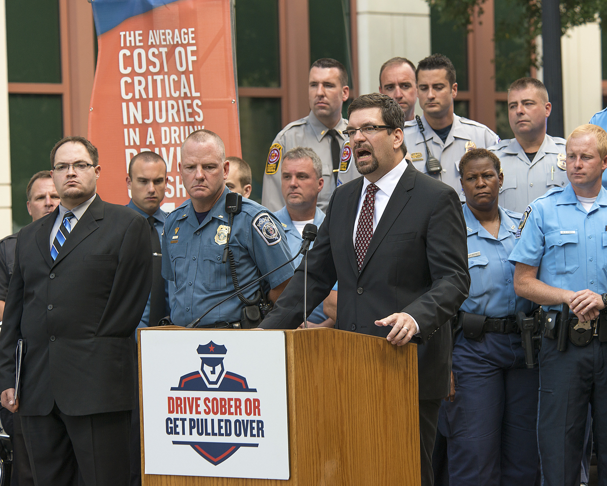 Photo of Acting NHTSA Administrator David Friedman at Drive Sober launch event