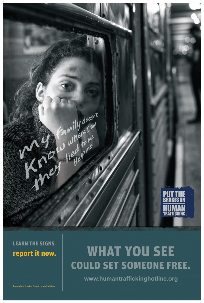 TLAHT Subway Poster 2 - What You See Could Set Someone Free (Blank)