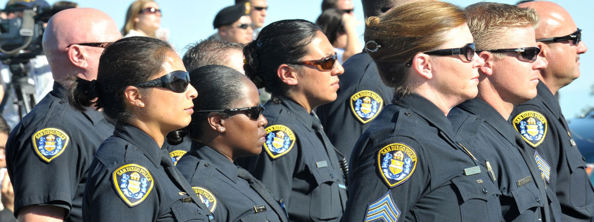 Photo of San Diego Police officers