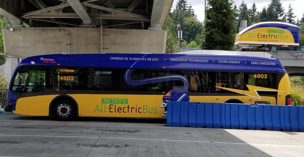 King County All Electric Bus